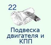 22-Подвеска-двигателя-и-КПП