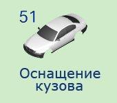 51 Оснащение кузова