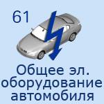 61 Общее э/оборудование автомобиля
