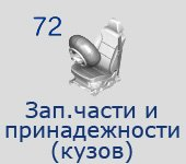 72 Запчасти+принадлежности (кузов)