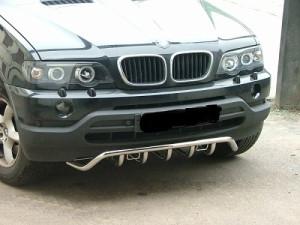 Важное средство защиты - бампер автомобиля для Е53
