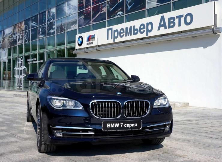 БМВ «семёрка» уже добралась до Владивостока