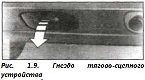 Рис. 1.9. Гнездо тягово-сцепного устройства