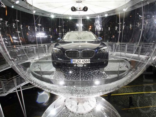 Новый эксклюзивный бутик БМВ седьмой серии теперь прямо на Красной площади в столице России