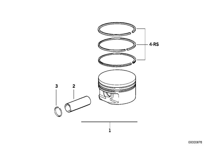 11_2261 Поршень кривошипно-шатунного механизма