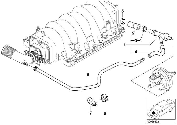 11_2675 Двигатель с вакуумной сист.управления