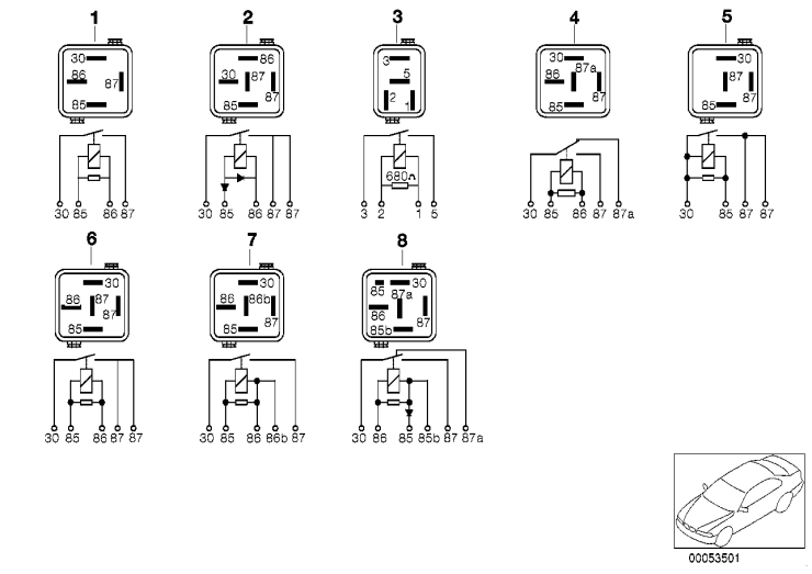 12_0495 Реле двигателя