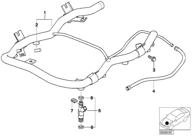 13_1014 Клапаны/трубопроводы системы впрыска