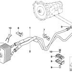 17_0181 Трубопровод масл.радиатора/теплообменник
