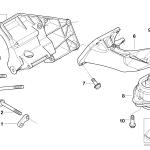 22_0070 Подвеска двигателя