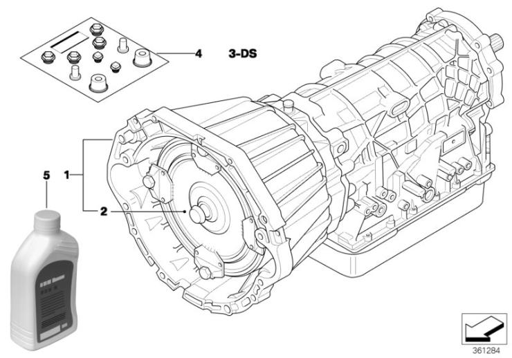 24_0970 Авт.коробка передач A5S440Z - полноприв.