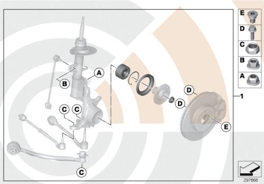 31_1003 К-т подшипн.ступицы колеса Пд/ValueLine