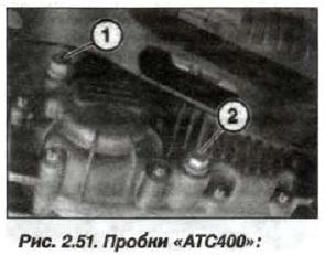 Рис. 2.51. Пробки «АТС400»