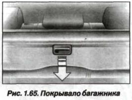 Рис. 1.65. Покрывало багажника