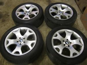 Выбираем колеса и диски на БМВ Х5 Е53