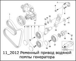 11_2012-Ременный-привод-водяной-помпы-генератора
