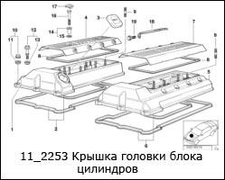 11_2253-Крышка-головки-блока-цилиндров