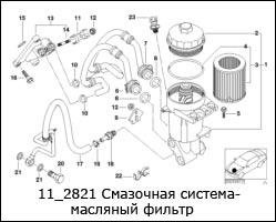 11_2821-Смазочная-система-масляный-фильтр