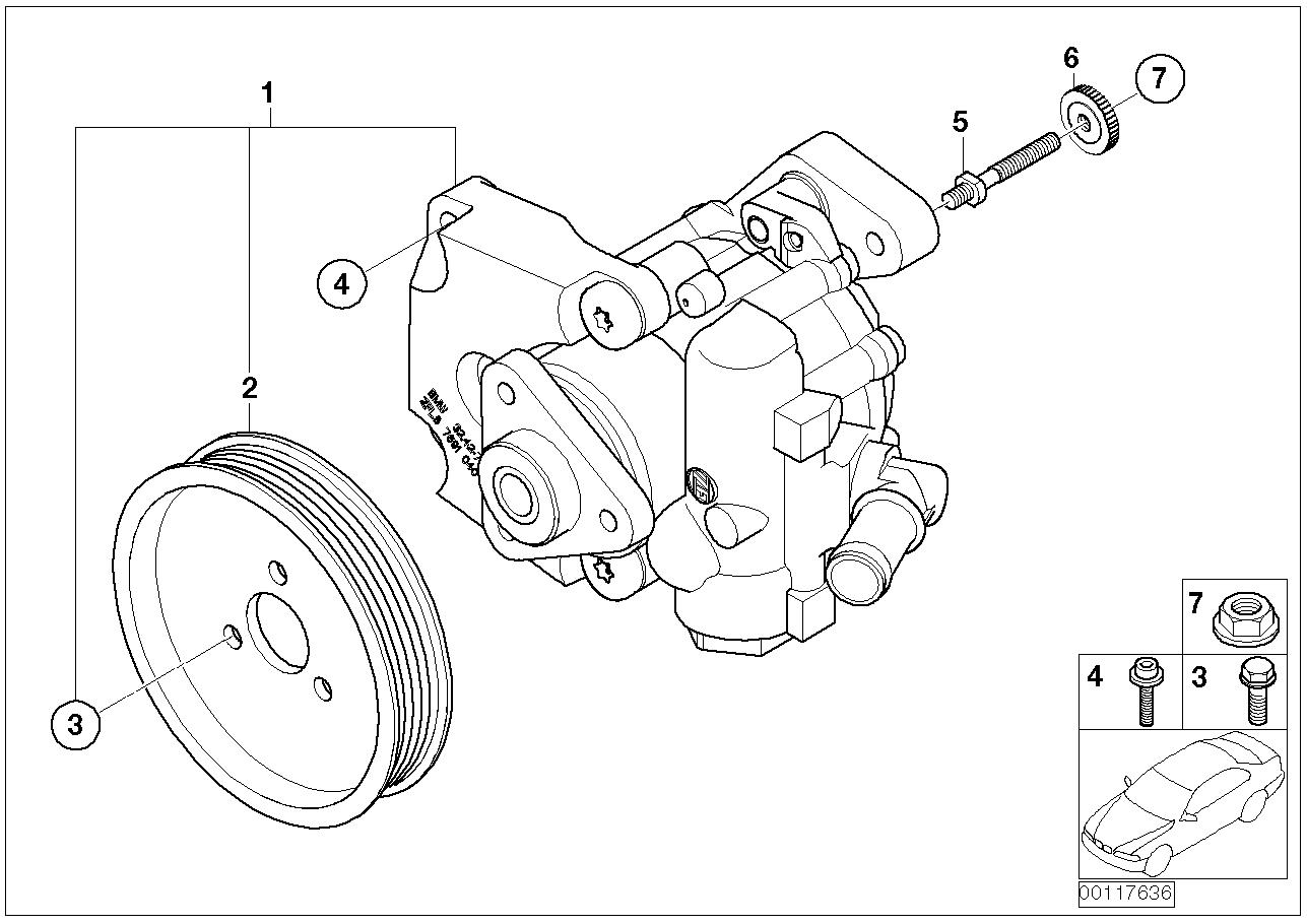 32_1316 Насос гидроусилителя рулевого управления