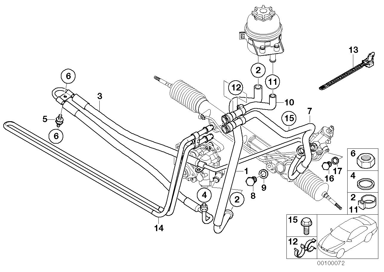 32_1347 Маслопроводы гидроусилителя рул.управл.