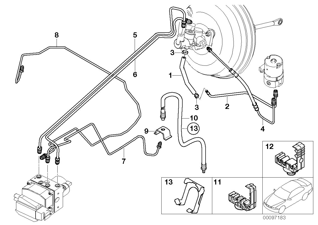 34_0979 Трубопровод тормозного привода Пд с DSC