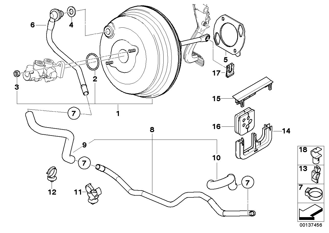 34_1017 Вакуумный усилитель тормозов