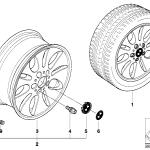 36_0462 Легкосплавный диск BMW эллипс.дизайн 56
