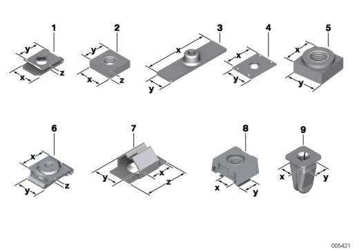 41_0981 Механические соединительные элементы