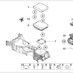 51_3756 Подлокотник на центральной консоли