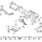 51_3943 Детали кузова съемные/днище/мотор.отсек