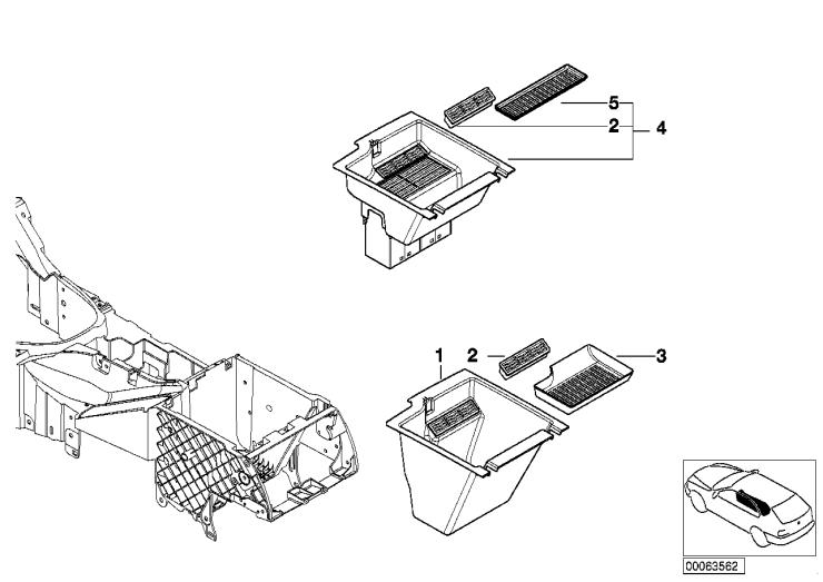 51_4084 Отделение с блоком для компакт-дисков