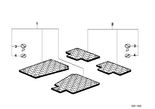 51_4819 Резиновый коврик