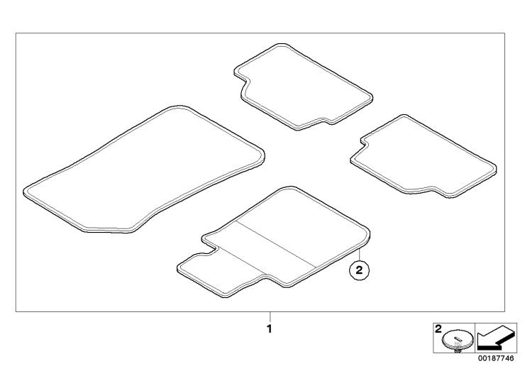 51_7236 Ножной коврик Update