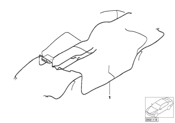 61_1307 Основной жгут проводов