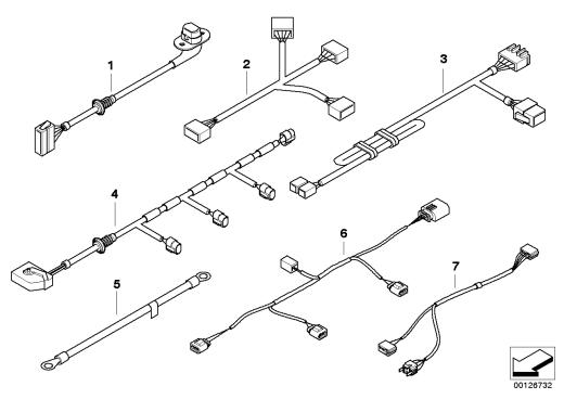 61_1322 Различные дополнит.комплекты проводов