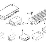 61_1357 ЭБУ и модули кузова
