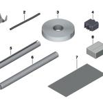61_2107 Различные детали для ремонта проводов