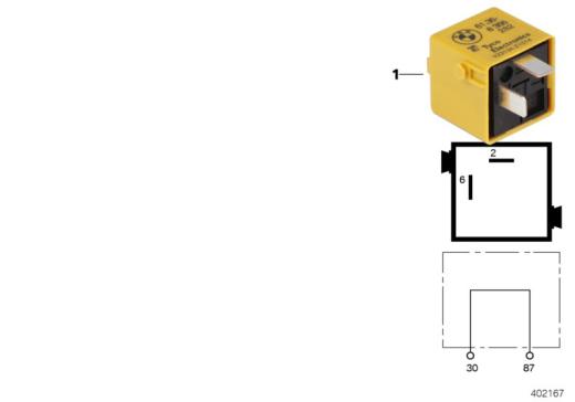 61_4532 Реле мостовой схемы - соединит.разъем