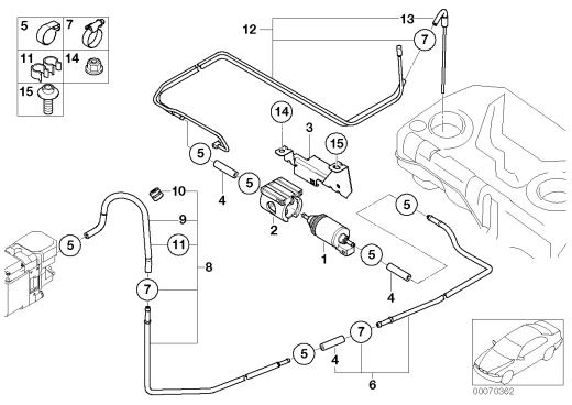 64_1100 Система подачи топлива/насос/трубопровод