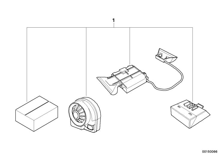 65_0733 Комплект дооснащения сигнализации
