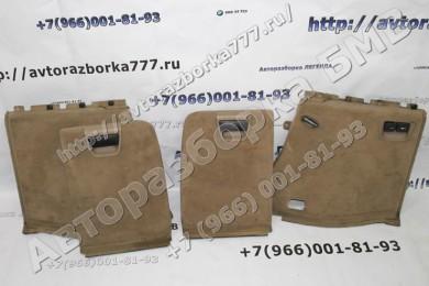 Крышка и обшивка багажного отделения бмв х5 е53