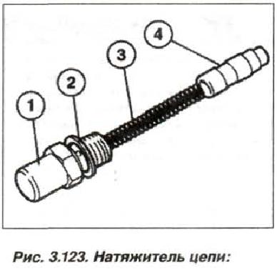 Рис. 3.123. Натяжитель цепи
