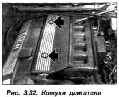 Рис. 3.32. Кожухи двигателя