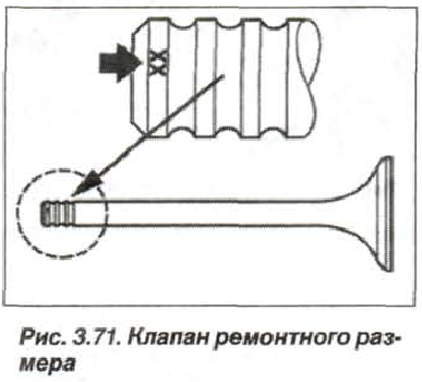 Рис. 3.71. Клапан ремонтного размера