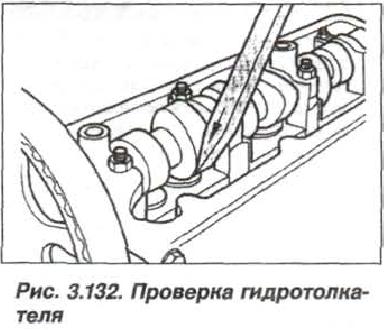 Рис. 3.132. Проверка гидротолкателя