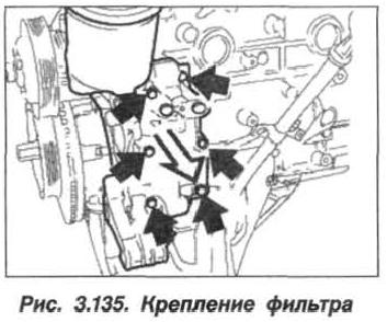Рис. 3.135. Крепление фильтра