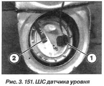 Рис. 3.151. ШС датчика уровня