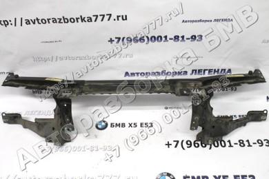 замена головного устройства на BMW e53