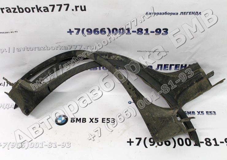 Накладка арки колеса Л Пд и П Пд