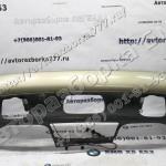 Облицовка заднего бампера,окрашенная - 4500 руб